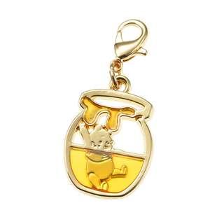 日本 Disney Store 直送 Petit Jewelry 系列 Winnie the Pooh 小熊維尼飾物扣 / 掛飾
