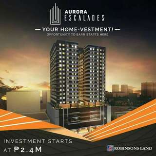 Aurora Escalades Your Home-Vesment(Pre-Selling)(Airbnb Ready!!)(7,700 Monthly!!)Avail Now Before Price Increase!