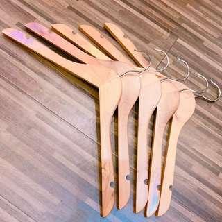 木製衣架/五入