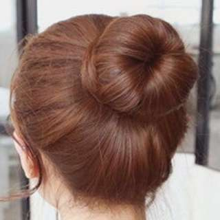 DONUT HAIR BUN(2 TYPES AVAILABLE)