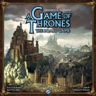 A Game of Thrones The Board Game (2nd Ed.)
