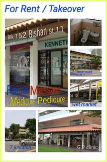 For Rent / Takeover 152 Bishan Street 11, Dentist Shop / Hair Salon/ Facial / Nail / Massage Shophouse Retail