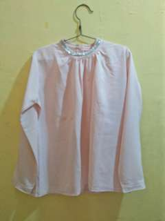 Blouse Soft Pink (Disc. 50%)