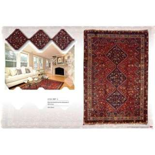 SAMEYEH LOT NO 15977 SHIRAZ FROM S. PERSIA 318 X 220 CM