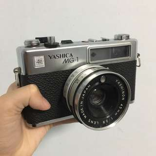 Yashica MG-1 35mm film camera