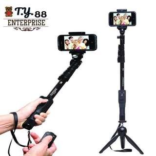 Ready Stock Yun Teng Bluetooth Monopod Tripod Selfie Stick Yt1288 Yt228 12
