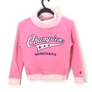 CHAMPION Kids Sweatshirt Spell Out Big Logo