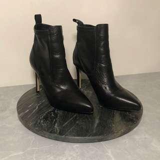 Black Windsor Smith high heel boots