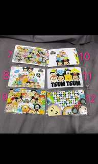 Tsum Tsum Ezlink Card sticker