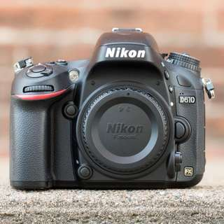 Nikon D610 Body only - Kredit Dp 10% tanpa CC