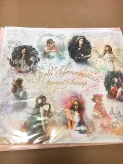 Girls' Generation 少女時代 限量版郵票