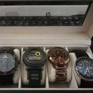 Five watch at one price