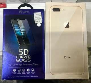 一口價 全新 Iphone 8 plus 256GB 各色 送全屏 全膠水玻璃貼