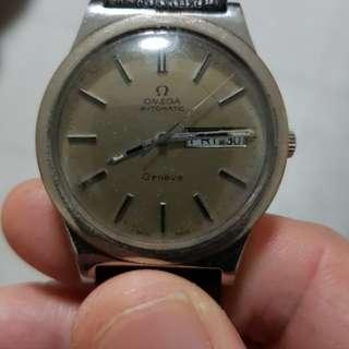 Vintage omega geneve automatic watch ,older dan me.wat u c wat u get tks.
