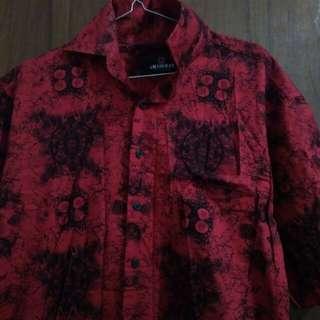 Kemeja Batik Keren Preloved