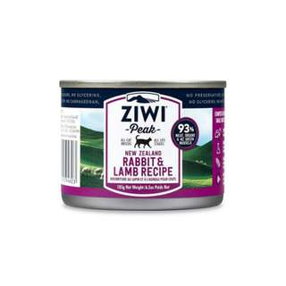 ZIWI PEAK CANNED CAT FOOD – RABBIT & LAMB