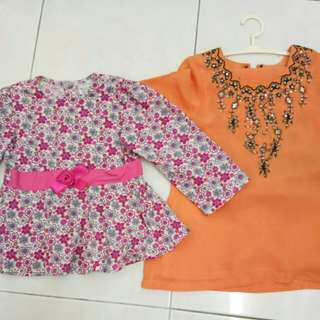 Combo Baju Kurung Budak & Peplum