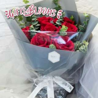 Special Love Bouquet Hers Fresh Flower V9 - JVYQS