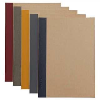 Muji Customised Notebooks
