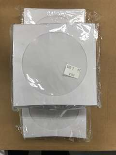 CD/DVD Paper Sleeves x 2.5packs