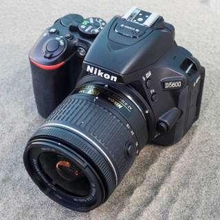 Nikon D5600 DSLR Camera with 18-55mm - Kredit Dp 10%
