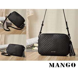 CLEARANCE! Authentic Mango Tassel Sling Bag