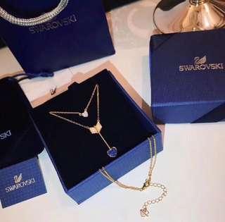 Swarovski necklace 925