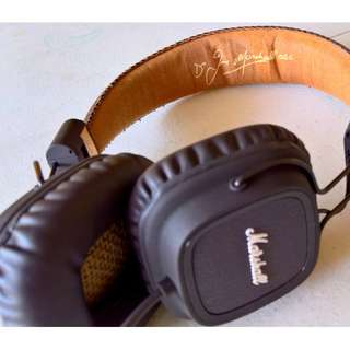 Marshall Major Headphones (Pristine Condition)