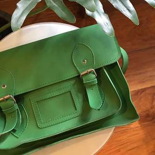 Therapy Green Messenger Bag