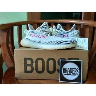 Adidas Yeezy Boost 350 V2 Zebra Original Legit