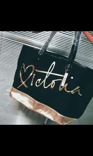 PO Authentic victoria secret shopper tote bag * waiting time 14 days after payment is made *pm to order