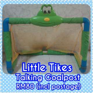 Little Tikes Multilingual Talking Goalpost