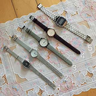 全新特價!文青手錶 皮帶 鋼帶