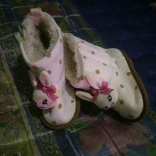 Boots bulu anak