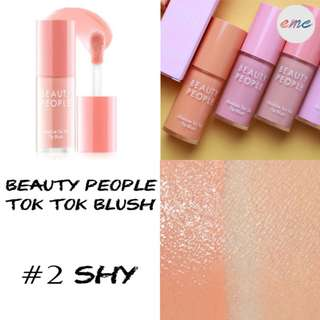 BN Beauty People Absolute Tok Tok Tip Blush - Shy #02
