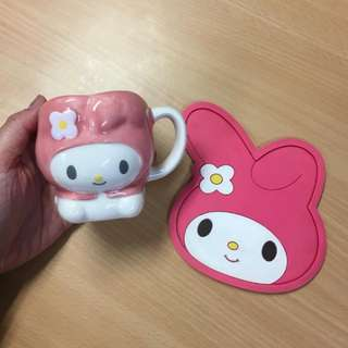 Melody Cup and Coaster Set