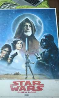 Limited edition Star Wars poster