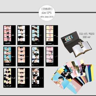 [SHARING] wanna one 4-shot photo strips by @for_deep_0510