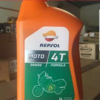 Repsol Moto 4T 20W/50 Motorcycle Engine Oil