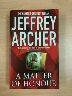 Jeffrey Archer : A Matter of Honour