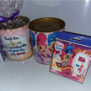 Customised Shimmer & Shine Goodie Pack