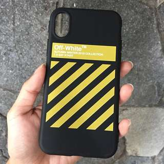 Off White iPhone  X Case
