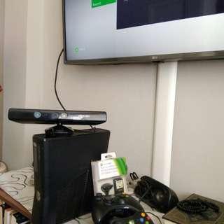Xbox 360 slim JTAG + kinect + HDD 250gb