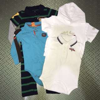 Bundle of 4 Preloved Baby Clothes