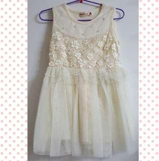 Pretty Beige Dress