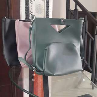 Tas+Dompet setting 2Pcs(Buy 1 get 1 Free)