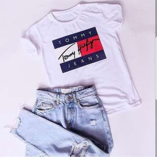 Tommy t.shirt white