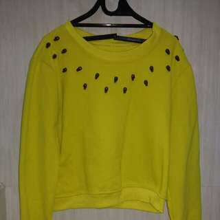 NEON YELLOW SWEATER