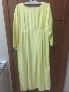 Dress Pesta / Kawinan - Seragam Kuning