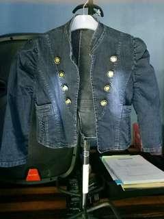 Jaket jeans preloved